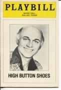 Gavin MacLeod Ted Pritchard High Button Shoes 1983 Opening Night Playbill