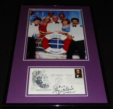 Gavin MacLeod Love Boat Signed Framed 11x17 Photo Poster Display