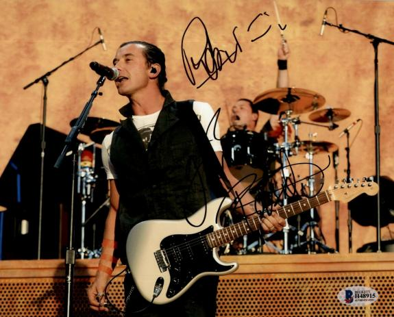 Gavin Rossdale Signed Autographed 8x10 Photo Beckett Bush 1