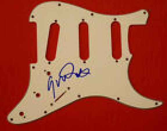 Gavin Rossdale Signed Autographed Electric Guitar Pickguard BUSH Lead Singer
