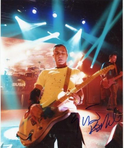 Gavin Rossdale Singer In Bush Signed Autographed  8x10 Photo W/ Coa
