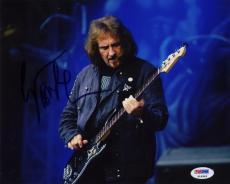 Geezer Butler Black Sabbath Ozzy Autographed Signed 8x10 Photo Certified PSA/DNA