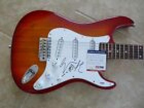 Geezer Butler Black Sabbath Signed Autographed Guitar Rock Music PSA Certified