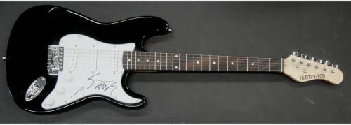 Geezer Butler Hand Signed Autographed Electric Guitar Black Sabbath JSA S40578
