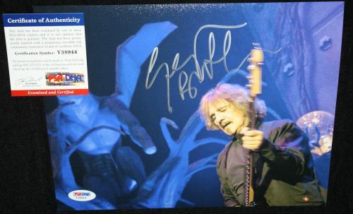 Geezer Butler signed 8 x 10, Black Sabbath, Paranoid, Ozzy Osborne, PSA/DNA