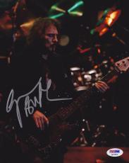 Geezer Butler SIGNED 8x10 Photo Bassist Black Sabbath PSA/DNA AUTOGRAPHED