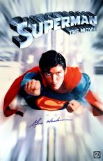 "Gene Hackman ""Lex Luthor"" Autographed Superman The Movie 11x17 Movie Poster"