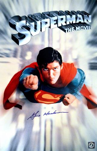 "Gene Hackman ""Lex Luthor"" Autographed Superman The Movie 11x17 Movie Poster"