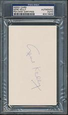 Gene Kelly Index Card PSA/DNA Certified Authentic Auto Autograph Signed *8938