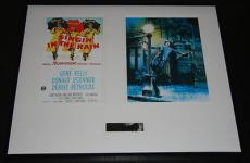 Gene Kelly Signed Framed 16x20 Photo Set Singin in the Rain