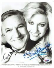 Gene Kelly/Olivia Newton-John Signed Autographed 8x10 Vintage Photo PSA #AA29633