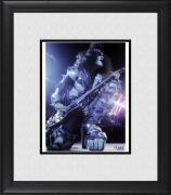 """Gene Simmons Kiss Framed 8"""" x 10"""" on a Knee Photograph"""