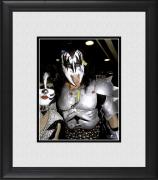 "Gene Simmons Kiss Framed 8"" x 10"" with Tongue Out Photograph"