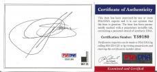 Gene Simmons Kiss Music Legend Signed Autographed 3x4 Bookplate Psa/dna Coa