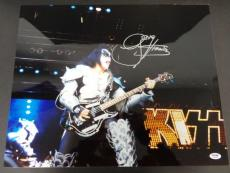 Gene Simmons KISS Signed 16x20 Photo Autograph Auto PSA/DNA C64834