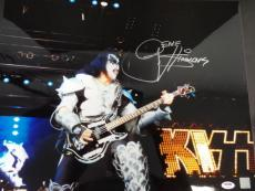 Gene Simmons KISS Signed 16x20 Photo Autograph Auto PSA/DNA Y66818