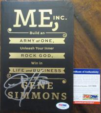 Gene Simmons Kiss Signed Book - PSA DNA