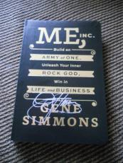 Gene Simmons ME, Inc. KISS Signed Autographed Book PSA or Beckett Guaranteed