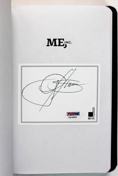Gene Simmons Signed First Edition Me, Inc Autographed Book PSA/DNA