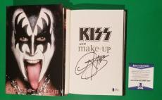 """Gene Simmons Signed Hardcover Book """"kiss And Make-up"""" With Photo Proof & Bas Coa"""