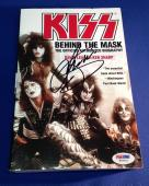 Gene Simmons Signed Kiss Behind the Mask Book PSA/DNA Cert# W59922