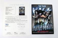 Gene Simmons/Stanley/Singer/Thayer KISS Multi Signed 7 x 9 Display 4 JSA Autos
