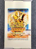 GENE WILDER and MEL BROOKS Signed Blazing Saddles 12x18 Canvas Photo #2 PSA/DNA