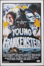 Gene Wilder Authentic Signed Young Frankenstein 12x18 Poster PSA/DNA ITP#4A96773