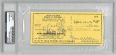 "Gene Wilder Authentic Signed ""Young Frankenstein Expenses"" Check RARE PSA/DNA"