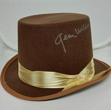 GENE WILDER Autograph Signed Willy Wonka Top Hat PSA/DNA COA ~ Chocolate Factory