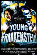 "Gene Wilder Autographed 12"" x 18"" Young Frankenstein Movie Poster - PSA/DNA COA"