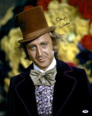 "Gene Wilder Autographed 16"" x 20"" Willy Wonka Photograph - PSA/DNA COA"