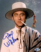 "Gene Wilder Autographed 8"" x 10"" The World's Greatest Lover Smoking Photograph -BAS COA"