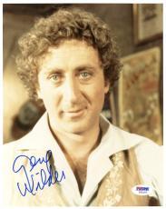 """Gene Wilder Autographed 8""""x 10"""" Stir Crazy Photograph - Beckett COA"""