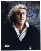 "Gene Wilder Autographed 8""x 10"" Young Frankenstein Black Sweater Photograph - Beckett COA"