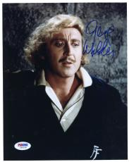 "Gene Wilder Autographed 8""x 10"" Young Frankenstein Black Sweater Photograph - Beckett COA"