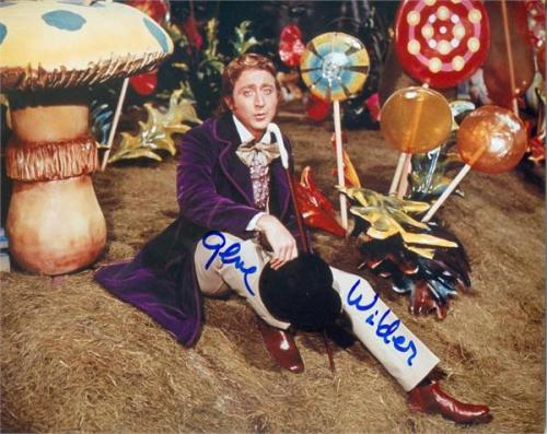 Gene Wilder autographed 8x10 photo (Willy Wonka and the Chocolate Factory) Image #SC5