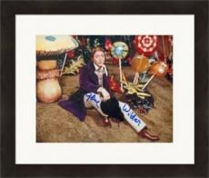 Gene Wilder autographed 8x10 photo (Willy Wonka and the Chocolate Factory) #SC5 Matter & Framed