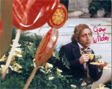 Gene Wilder autographed 8x10 photo (Willy Wonka) Image #SC3
