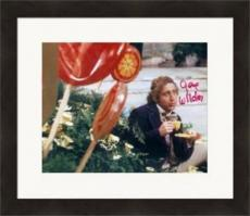 Gene Wilder autographed 8x10 photo (Willy Wonka) #SC3 Matted & Framed