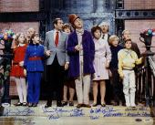 GENE WILDER cast signed Willy Wonka Chocolate Factory 16x20 Photo w/ PSA/DNA COA