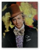 Gene Wilder Hand Signed Autographed 24x30 Stretched Canvas Chocolate Factory PSA