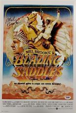 GENE WILDER + MEL BROOKS Signed Blazing Saddles 12x18 Photo PSA/DNA #6A79434
