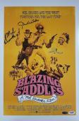 GENE WILDER + MEL BROOKS Signed Blazing Saddles 12x18 Photo PSA/DNA COA