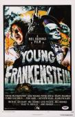 Gene Wilder & Mel Brooks Signed Young Frankenstein 11x17 Movie Poster Psa Y58391