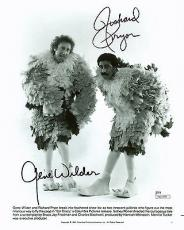 Gene Wilder & Richard Pryor Stir Crazy Signed 8X10 Photo JSA #M03590