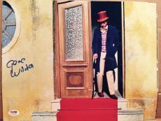 Gene Wilder Signed 11x14 Photo Auto Willy Wonka Psa/dna Itp Coa A16