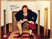 Gene Wilder Signed 11x14 Photo Auto Willy Wonka Psa/dna Itp Coa A9