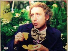 Gene Wilder Signed 11x14 Photo Auto Willy Wonka Psa/dna Itp V21