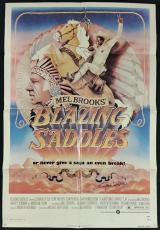 GENE WILDER Signed 27x40 BLAZING SADDLES Original Movie Poster w/ PSA/DNA COA